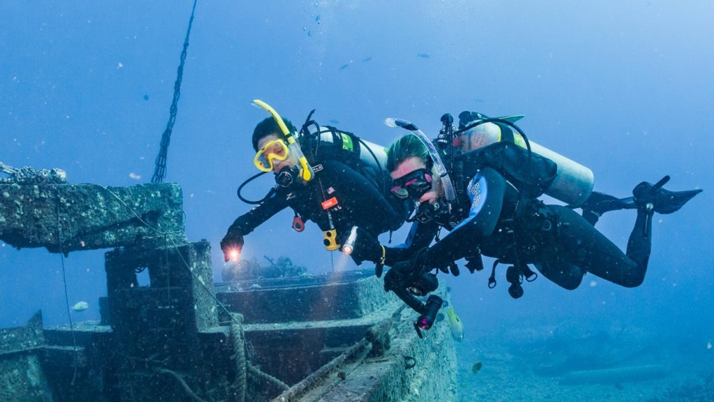 Spécialités : Maîtrise de la flottabilité
